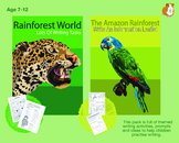 Lots Of Writing Tasks About The Rainforest (7-11 years)