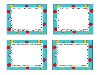Lots of Blank Labels--printables to organize your classroom