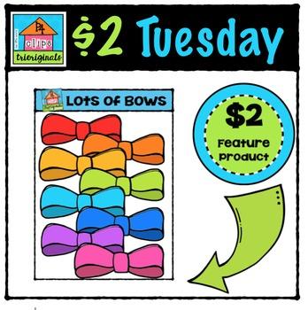 Lots of Bows {P4 Clips Trioriginals Digital Clip Art}