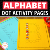 ABC Dot Worksheets: Alphabet Activity Sheets for Preschool