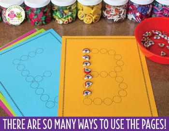 ABC Dot Worksheets: Alphabet Activity Sheets for Preschool and Kindergarten