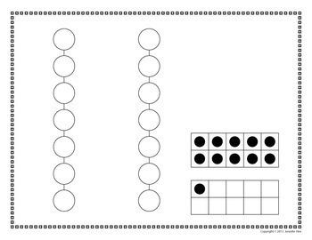 Number Activity: 0-20 Number Dot Worksheets