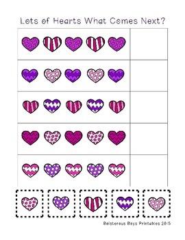 Lots of Hearts PreK Printable Pack Sampler