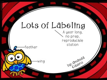 Lots of Labeling - A Year-Long ELA station