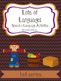 Lots of Language - Fall Edition
