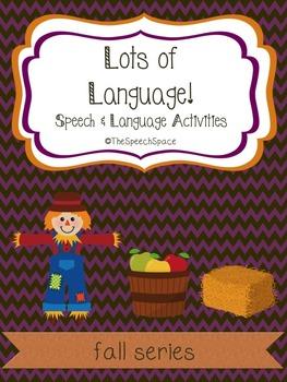 Lots of Language - Fall Edition