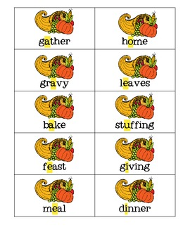 Lots of Language for Thanksgiving