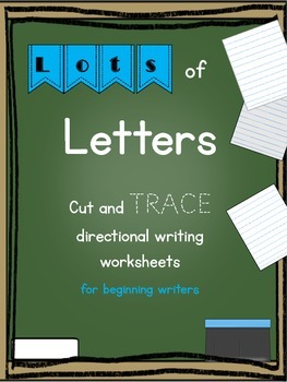Lots of Letters {Directional Handwriting}