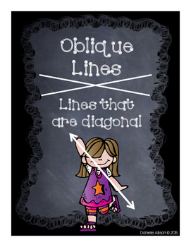 Lots of Lines: Horizontal, Vertical, & Oblique Lines