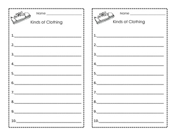 Lots of Lists! Vocabulary, Reading and Writing for the Common Core