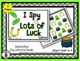 Lots of Luck - Adapted 'I Spy' Easy Interactive Reader - S
