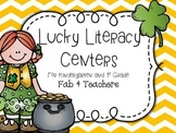 St. Patrick's Day ~ Lots of Luck Literacy Centers for Kindergarten and 1st Grade