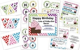 Lots of Polka-Dots Birthday Tags