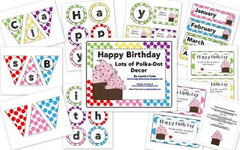 Lots of Polka-Dots Birthday Tags