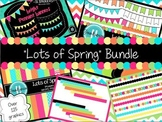 """Lots of Spring"" Bundle ~ Digital Frames, Papers, Banners, and More!"