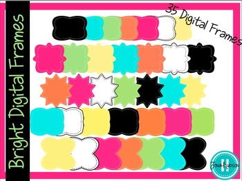 """""""Lots of Spring"""" Bundle ~ Digital Frames, Papers, Banners, and More!"""