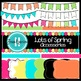"""Lots of Spring"" Bundle ~ Digital Frames, Papers, Banners,"