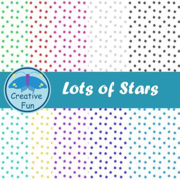 Lots of Stars Digital Paper