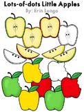 Lots-of-dots- Little Apples- Clip Art
