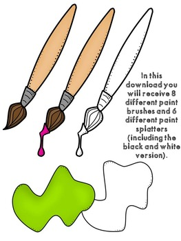 Lots-of-dots- Little Paints- Clip Art