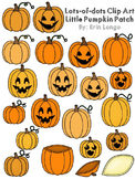 Lots-of-dots- Little Pumpkin Patch- Clip Art