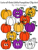 Lots-of-dots- Little Pumpkins- clip art