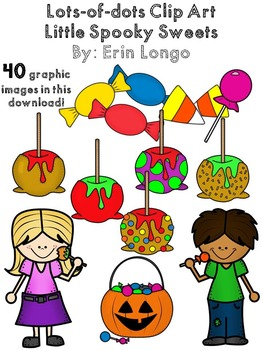 Lots-of-dots- Little Spooky Sweets- Clip Art