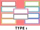 Lotsa Labels - Editable Labels and Name Plates: Polka Dots, schedule cards, tags