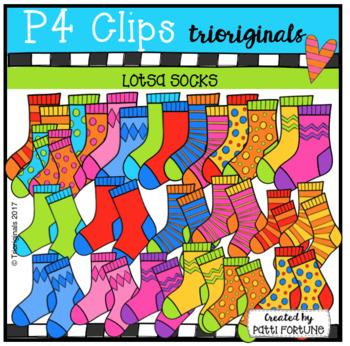 Lotsa Socks (P4 Clips Trioriginals)