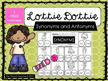 Lottie Dottie: Synonyms and Antonyms
