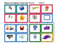Lotto Word Matching Boards of Blends and Digraphs in COLOR and BW