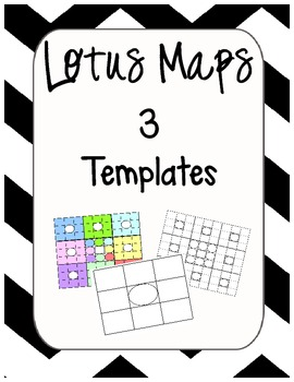 Lotus Map Templates - Graphic Organizer