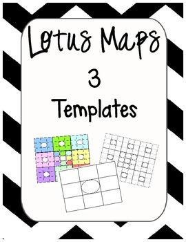 Lotus Map Templates - Graphic Organizer