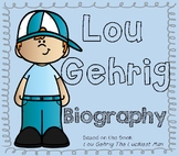 Lou Gehrig / ALS / New York Yankees- Biography