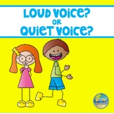 Voice Level--Quiet Voice or Loud Voice ?????????