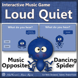 Dynamics Loud Quiet ~ Music Opposite Interactive Music Game {Spider}