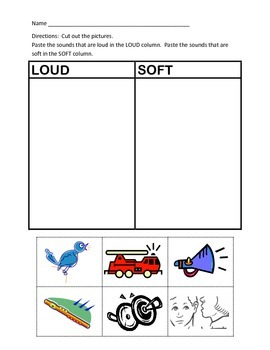 Loud and Soft Cut & Paste