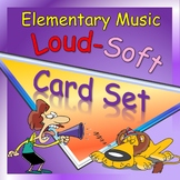 Card Set for Music: Loud and Soft Cards Set and Activity