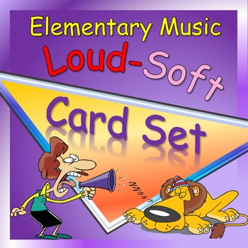 Loud and Soft Picture Card Set and Activity