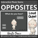 Fall Music Game ~ Dynamics Loud Quiet Interactive Music Game {Ghostie}