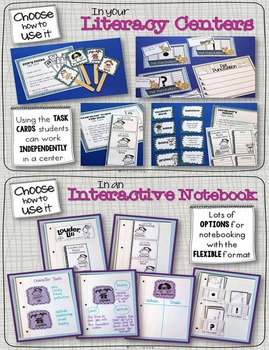 Louder, Lili Book Study: Activities, Printables, Writing Craft, Foldable Lapbook