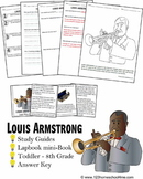 Louis Armstrong Biography Report (K-8th)