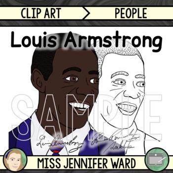 Louis Armstrong Clip Art