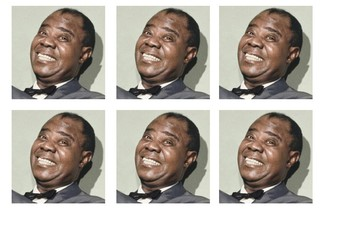 Louis Armstrong Comic Strip and Storyboard
