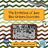 Louis Armstrong & New Orleans Jazz Smart Notebook