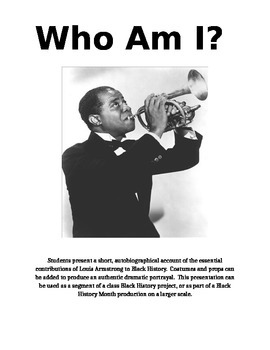 Louis Armstrong - Who Am I?