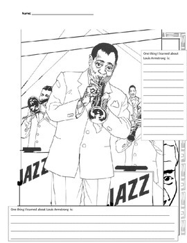 Louis Armstrong Writing Piece