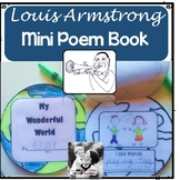 Louis Armstrong Mini Poem Book