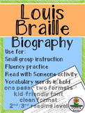 Louis Braille Biography