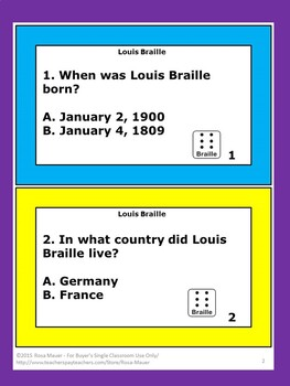 Louis Braille Disability Studies